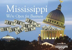 Photo illustration by Steve Wilson OPEN FOR BUSINESS: The Mississippi Development Authority has a massive amount of tax incentives to lure new businesses and convince existing businesses to expand.