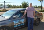 "FOR HIRE: ""Taxi"" Tim Burnham was arrested in Jackson for violating Jackson's restrictive taxi ordinance. He potentially faces thousands of dollars in fines."