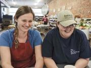 Cookbook Authors Van Beuren and Grimes