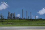 Sasol is building a 3,034-acre energy complex near a bayou in Lake Charles, La.