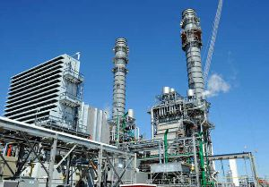 Heat recovery steam generators and smoke stacks Kemper County IGCC Power Plant