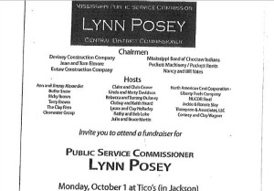 Lynn Posey Public Service Commissioner Fundraiser