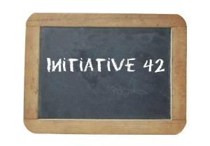 Initiative 42 Chalkboard
