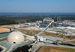 Photo by Mississippi Power OVERHEAD VIEW: Mississippi Power's Kemper Project power plant is designed to turn lignite coal into electricity.