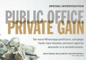 Clarion Ledger: Public Office, Private Gain
