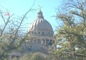 Mississippi State Capitol in Jackson, MS