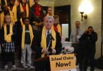 Mississippi Gov. Phil Bryant speaks at a school choice rally