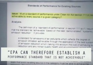 EPA Can Therefore Establish a Performance Standard that is Not Achievable.