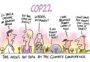 COP22 Cartoon