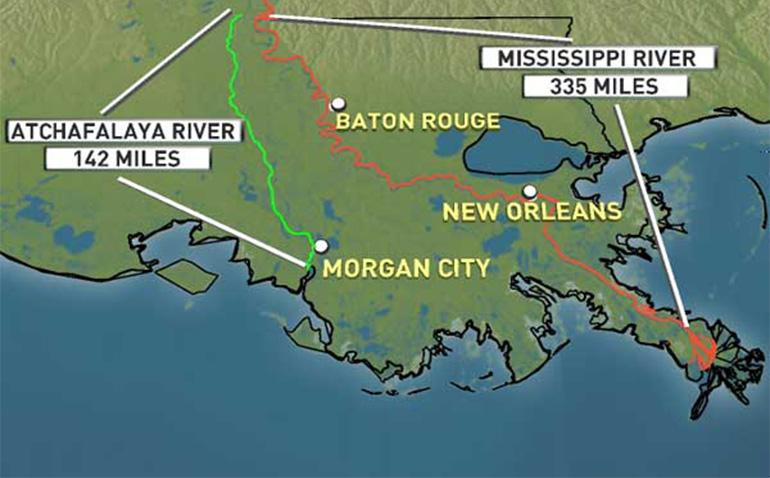 Mississippi River Coarse Change