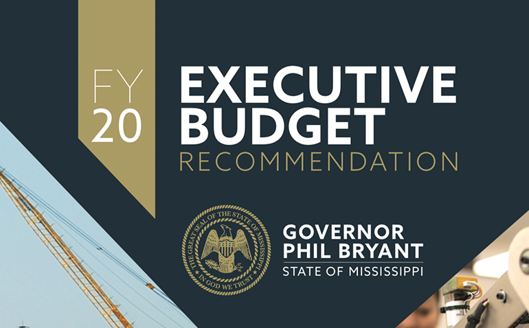 Mississippi's Proposed Fiscal 2020 Budget Increase Largely for PERS