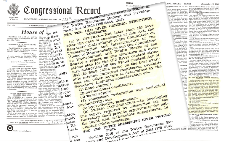 Congressional Record ORCC