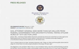 SOS Press Release