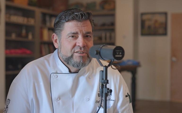 Chef David Raines of The Flora Butcher