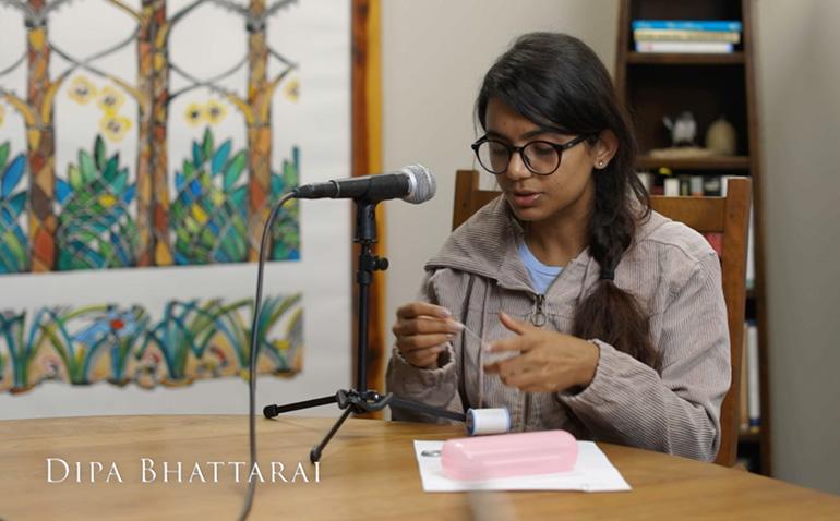 Entrepreneur Eyebrow Threader Dipa Bhattarai