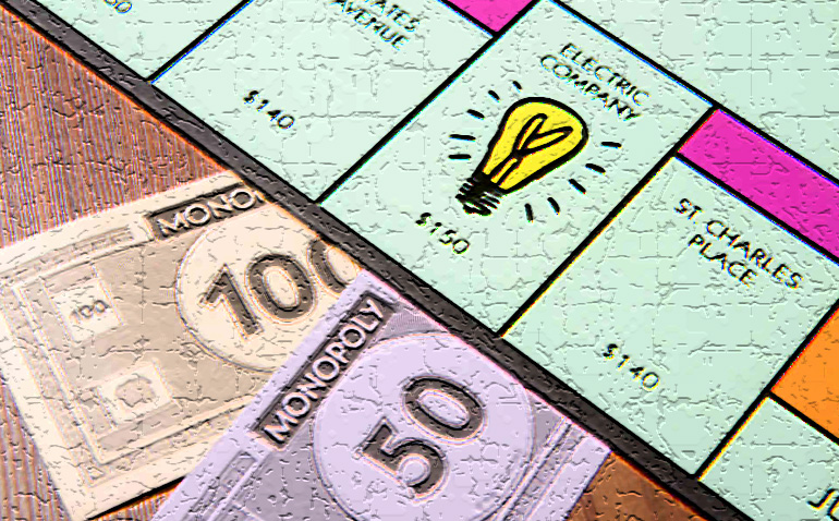 Monopoly Regulated Utilities
