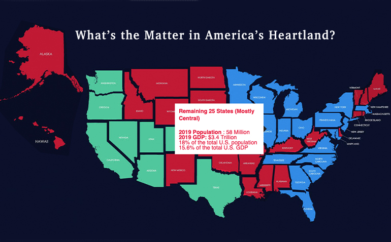 What's the Matter in America's Heartland